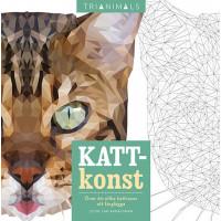 Kattkonst : över 60 olika kattraser att färglägga